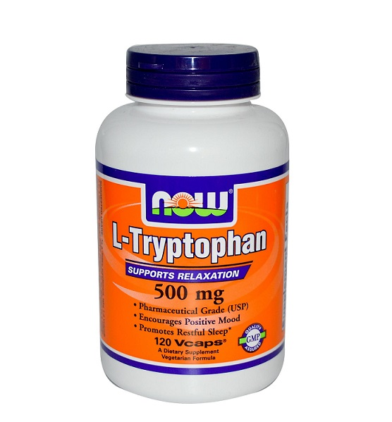 NOW L-Tryptophan 500 mg 60 капс в Хабаровске - «Спорт-М»
