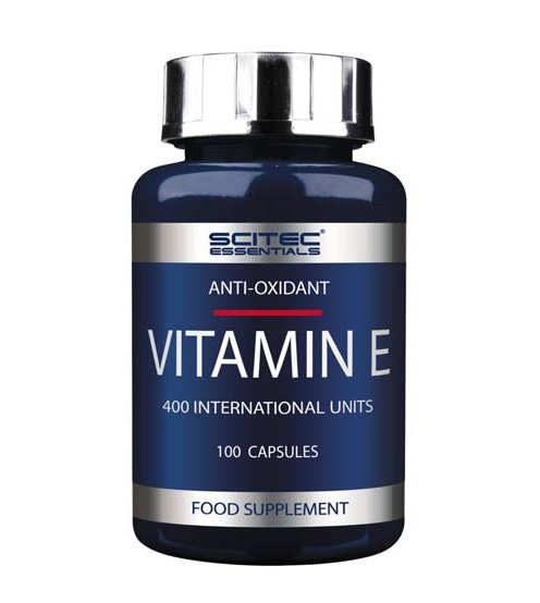 Essentials Vitamin E 100 капс в Хабаровске - «Спорт-М»