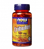 NOW Tribulus 1000 mg 90 капс