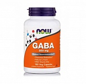 NOW GABA 500 mg + B-6 100 капс