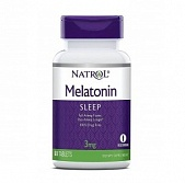 Natrol Melatonin 3 mg 90 таб FD
