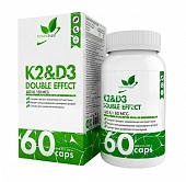 NaturalSupp K2+D3 Double effect 60 капс