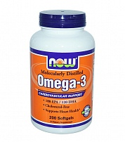NOW Omega-3 1000 мг 100 капс