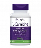 Natrol L-Carnitine 500 mg 30 капс