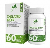 NaturalSupp Iron Chelate 60 капс